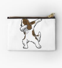 Dabbing English Springer Studio Pouch