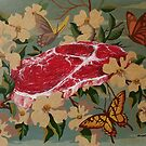 Butterflies, Blossoms and Beef by David Irvine