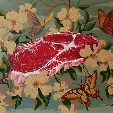 Butterflies, Blossoms and Beef by GnarledBranch