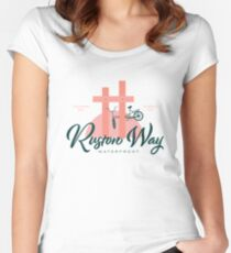 Ruston Way Tacoma Fitted Scoop T-Shirt