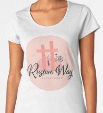Ruston Way Tacoma Premium Scoop T-Shirt