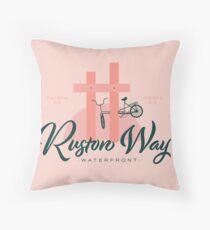 Ruston Way Tacoma Throw Pillow