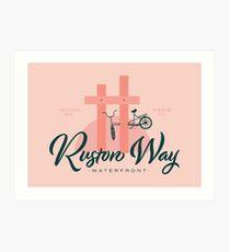 Ruston Way Tacoma Art Print