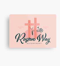Ruston Way Tacoma Metal Print