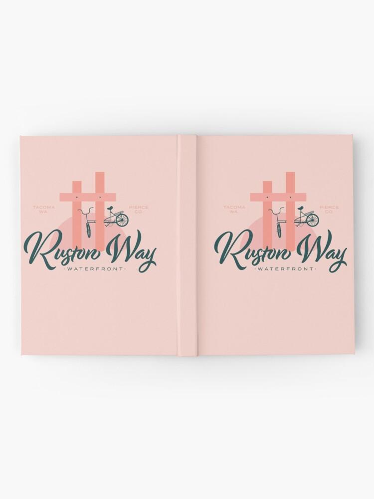 Alternate view of Ruston Way Tacoma Hardcover Journal