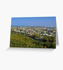 Northern Marco Island, Florida Suburbs Greeting Card