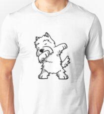 Dabbing Westie Unisex T-Shirt