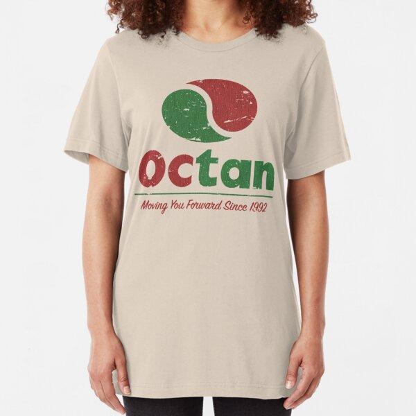 Octan Vintage 1992  Slim Fit T-Shirt