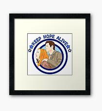 X files keep hope alive alive by Mimie Framed Print