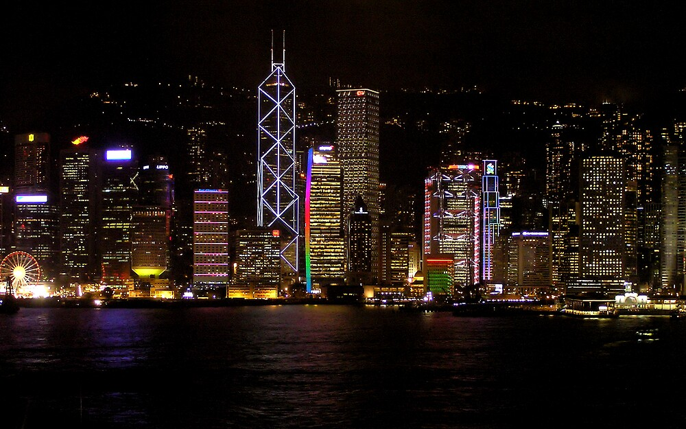 Victoria Harbour, Hong Kong by Christopher Biggs