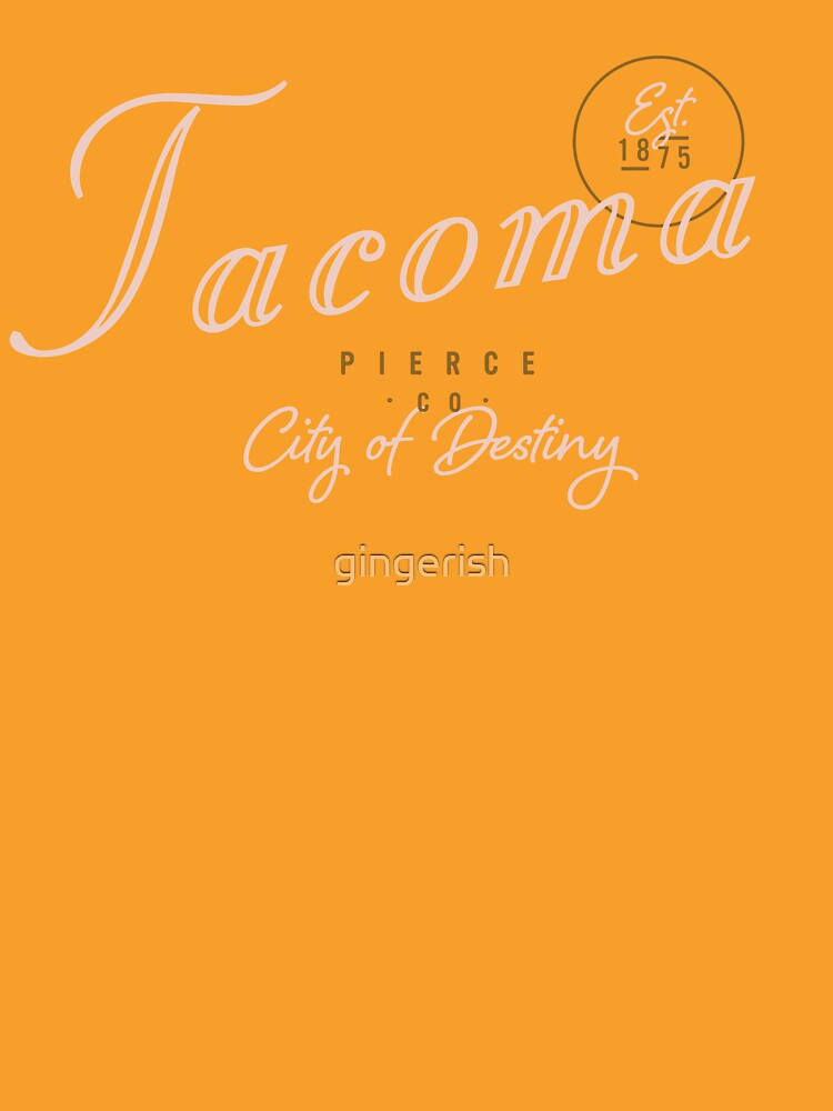 Tacoma, WA by gingerish