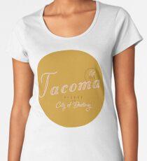 Tacoma, WA Premium Scoop T-Shirt