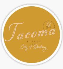 Tacoma, WA Glossy Sticker
