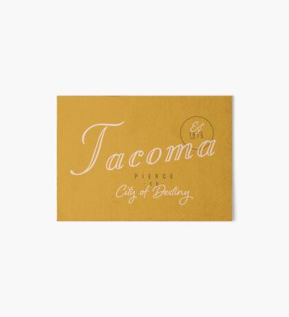 Tacoma, WA Art Board Print