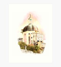 Portmeirion village Art Print