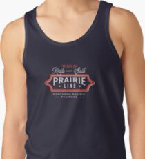 Ride the Prairie Line Tank Top