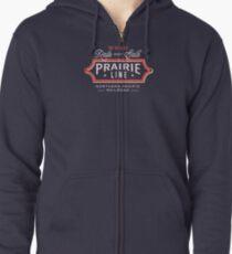 Ride the Prairie Line Zipped Hoodie