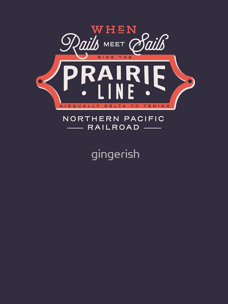 Ride the Prairie Line by gingerish