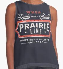 Ride the Prairie Line Sleeveless Top