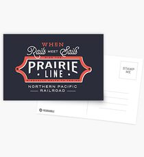 Ride the Prairie Line Postcards