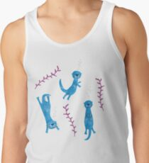 Swimming Otters Tank Top
