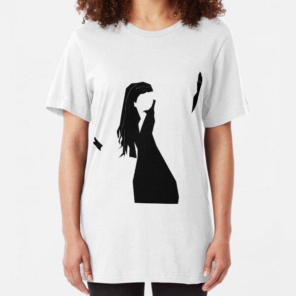 Loreen 'Euphoria' Minimalist design Slim Fit T-Shirt