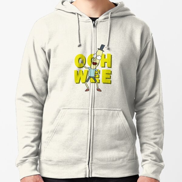 Mr. Poopybutthole Zipped Hoodie