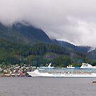 Coral Princess, Cruise Liner, Ketchikan, Alaska 2012. by johnrf