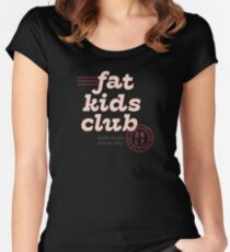 Fat Kids Club Fitted Scoop T-Shirt