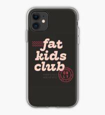 Fat Kids Club iPhone Case