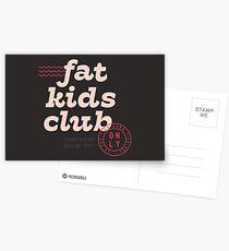 Fat Kids Club Postcards
