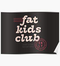 Fat Kids Club Poster