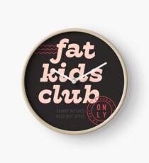 Fat Kids Club Clock