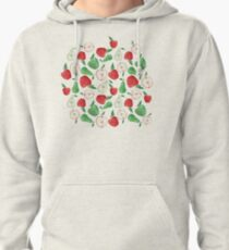 Fruity Apples and Pears Pullover Hoodie