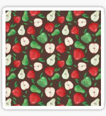 Fruity Apples and Pears Sticker