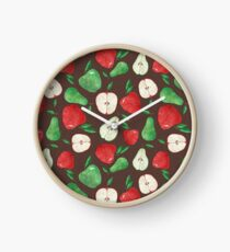 Fruity Apples and Pears Clock