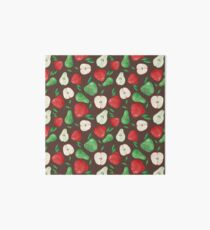 Fruity Apples and Pears Art Board