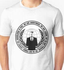 Anonymous Crest 2 Unisex T-Shirt