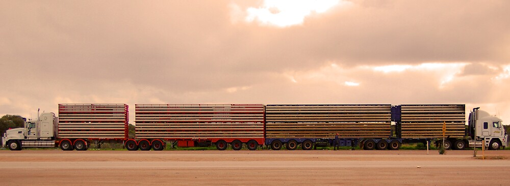 Road Trains by Anthony Zan