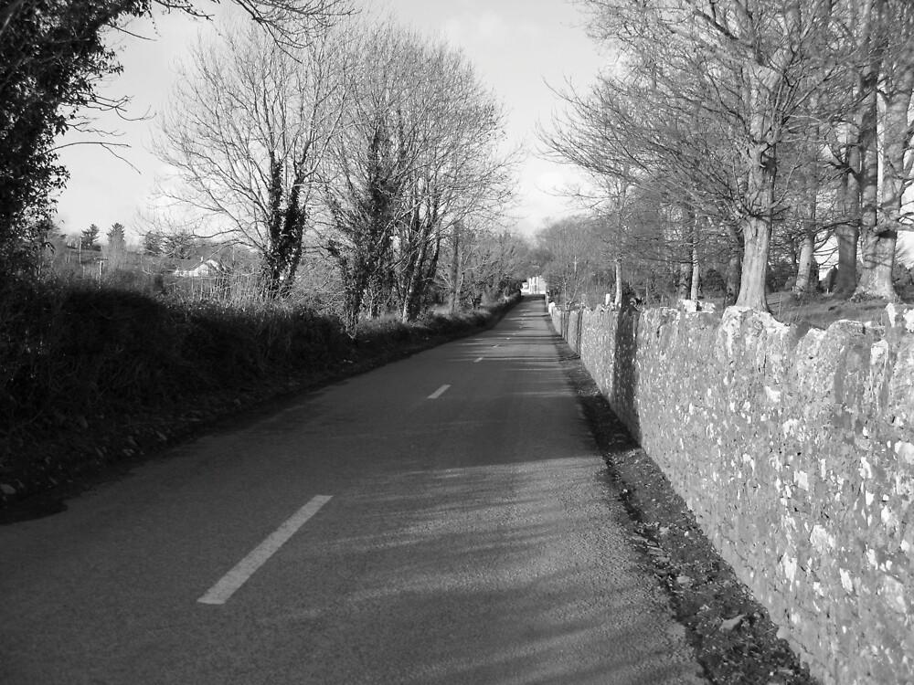 Kildysart village by John Quinn