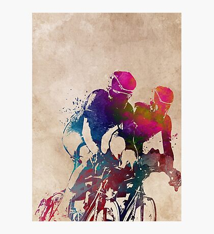 cycling sport art #cycling #sport Photographic Print
