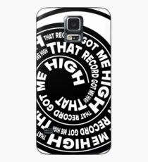 That Record Got Me High Podcast Logo Case/Skin for Samsung Galaxy