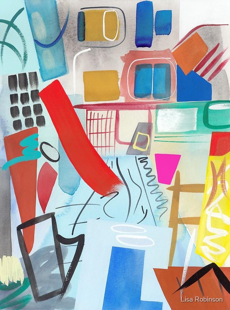 Abstract Interior #48 by Lisa V Robinson