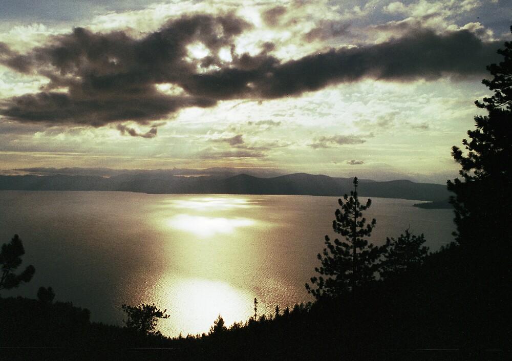 Lake Tahoe Sunset by James2001