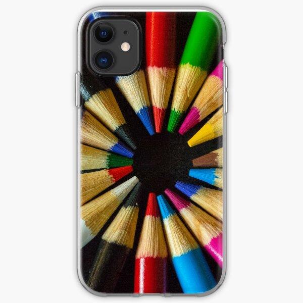 Coloured Wheel iPhone Soft Case