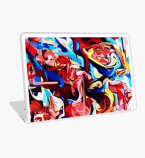 Expressive Abstract People Composition painting Laptop Skin