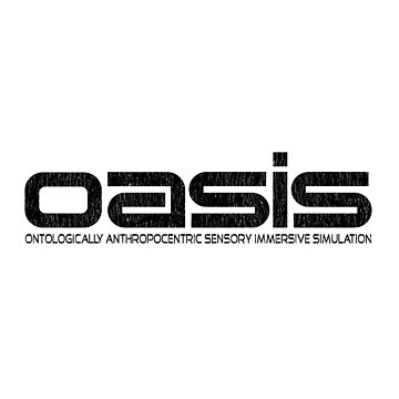OASIS (Ready Player One, Halliday, Anorak, Black) by marcovhv