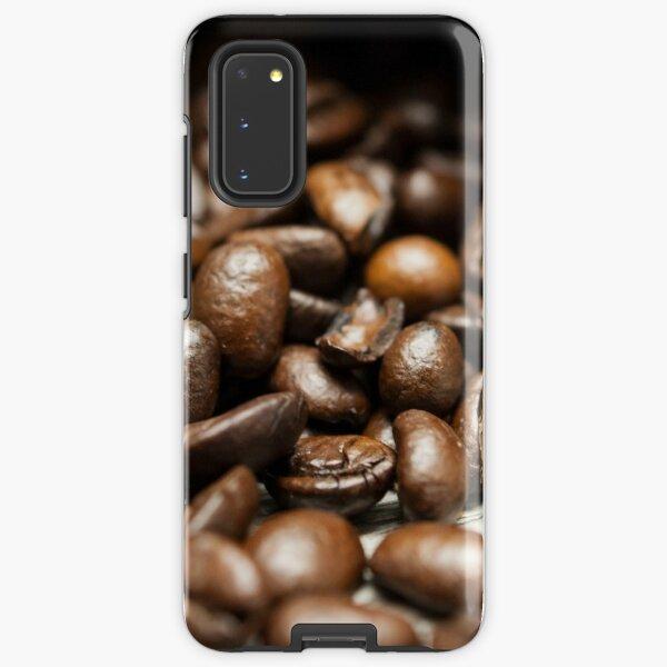 Spilled Coffee Beans Samsung Galaxy Tough Case