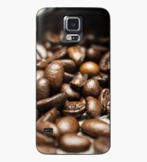 Spilled Coffee Beans Case/Skin for Samsung Galaxy