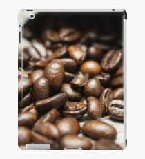 Spilled Coffee Beans iPad Case/Skin